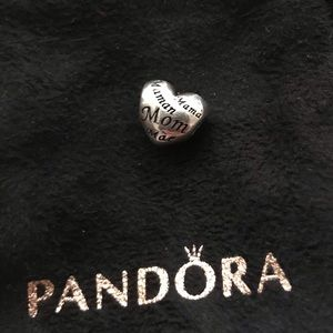 Authentic Pandora Mother's Heart Charm